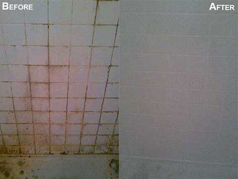 shower tile and grout cleaning before afters grout medic denver. Black Bedroom Furniture Sets. Home Design Ideas